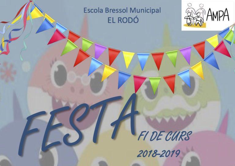 Festa fi de curs 2018-19