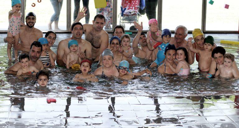 Final de curs del curset de natació