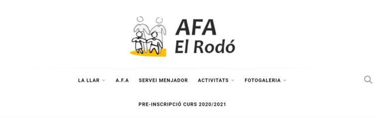 Nova web de l'AFA!